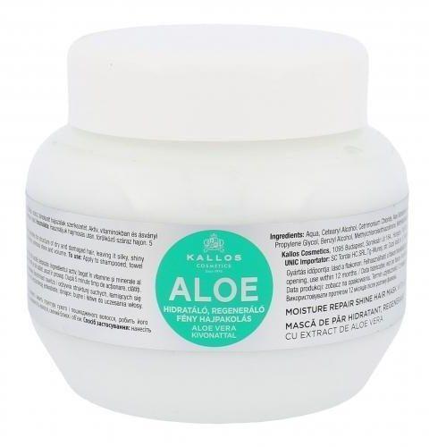 Kallos Cosmetics Aloe Vera maska do włosów 275 ml dla kobiet