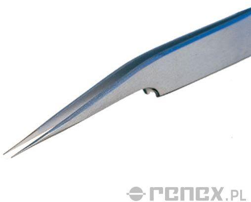 Pęseta ostra 5A SA (długość: 115 mm)