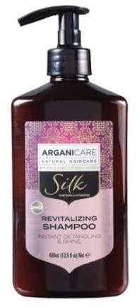 Arganicare Silk Revitalizing Shampoo- Szampon rozplątujący włosy z jedwabiem 400 ml