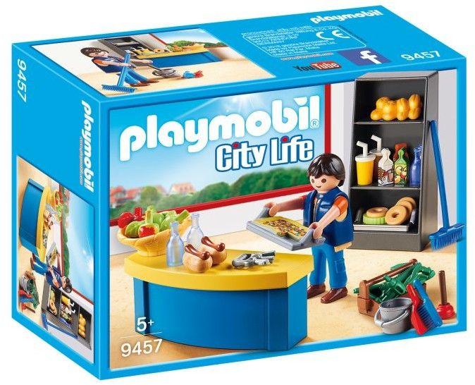 Playmobil - Woźny w sklepiku 9457