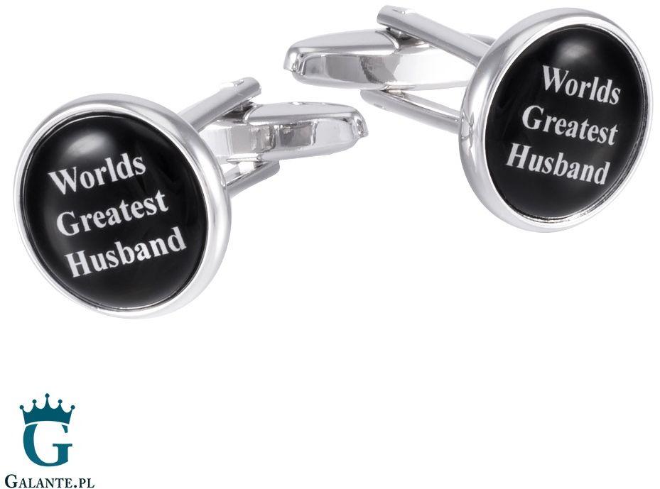 Spinki do mankietów dla męża x2 boc083