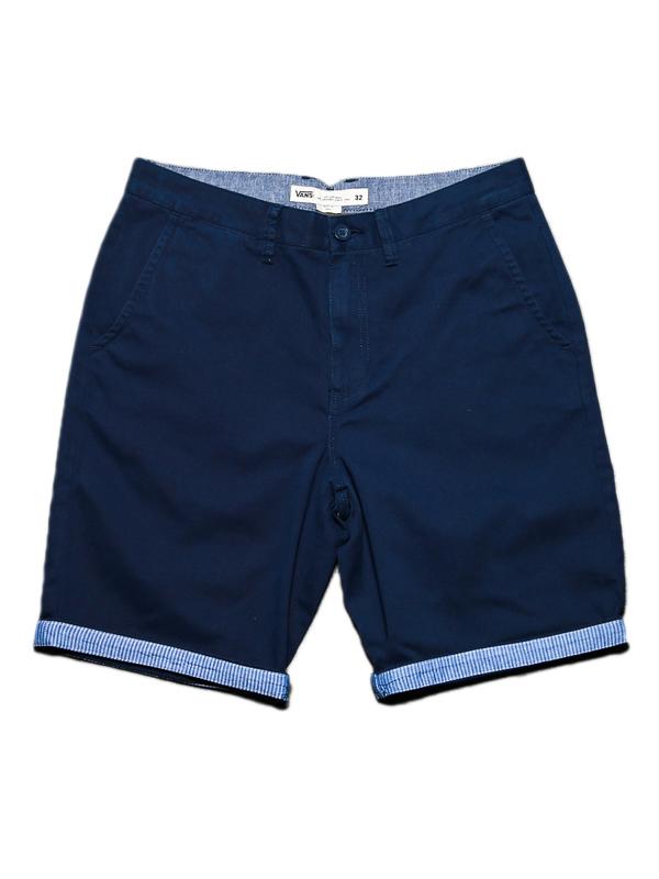 Vans EXCERPT CUFF DRESS BLUES/GUILDER STRIPE dzieci spodenki płócienne - 22