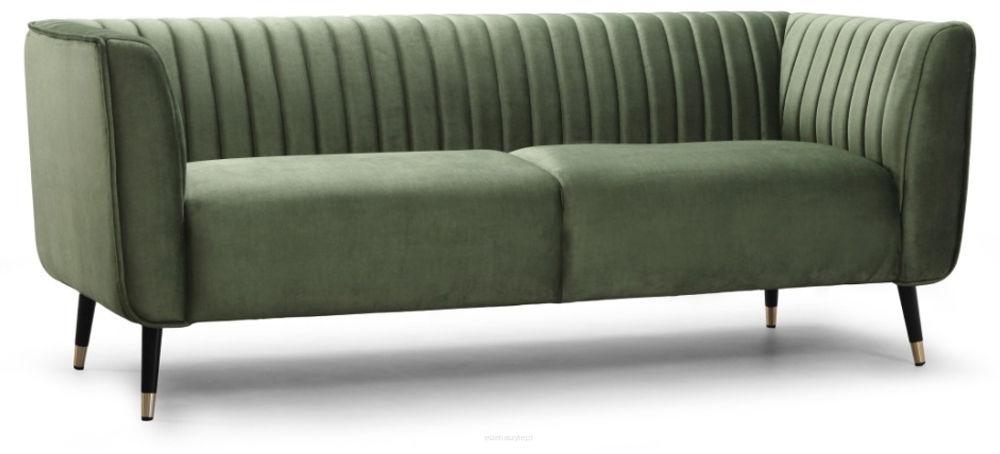 Sofa Ann, 3os., kanapa w stylu retro