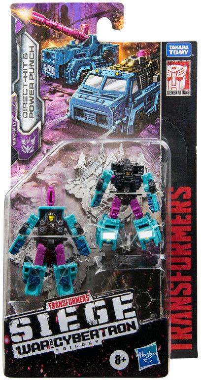 Hasbro Transformers Siege War For Cybertron Direct Hit & Power Punch E8531
