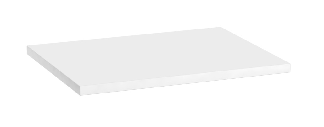 Oristo Silver blat 120x2,5x45cm biały połysk OR33-B-120-1