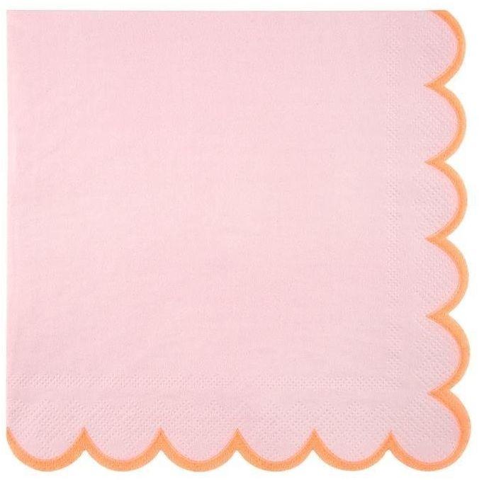Meri Meri - Serwetki Pastelowe różowe