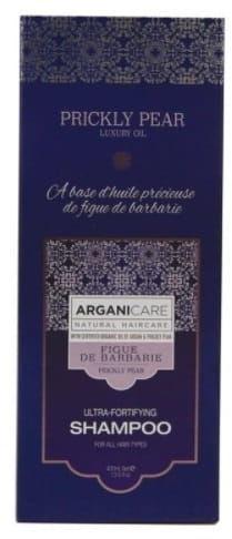 Arganicare Prickly Pear Shampoo - Szampon wzmacniający z opuncją figową 400 ml