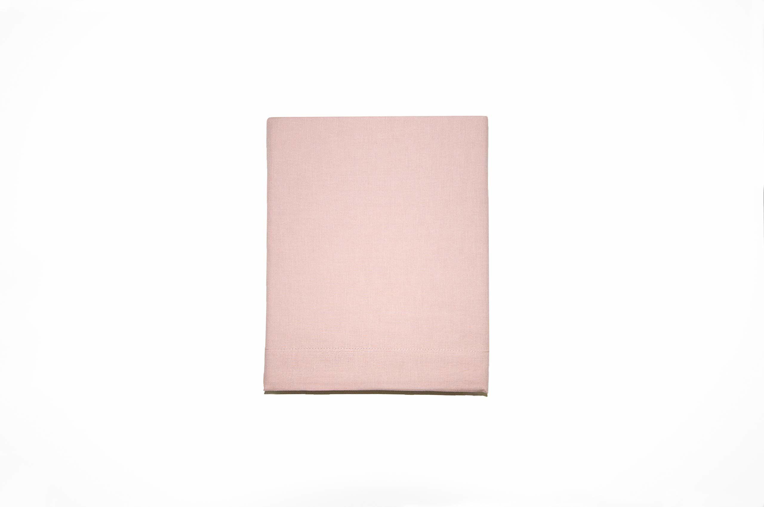 Lexington Prześcieradło, 240 x 290 cm, bawełna, len, różowe