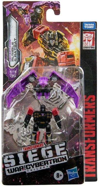 Hasbro Transformers Siege War For Cybertron Rumble & Ratbat E7151