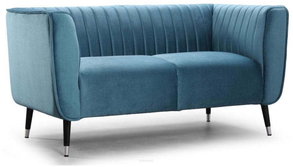Sofa Ann, 2os., kanapa w stylu retro