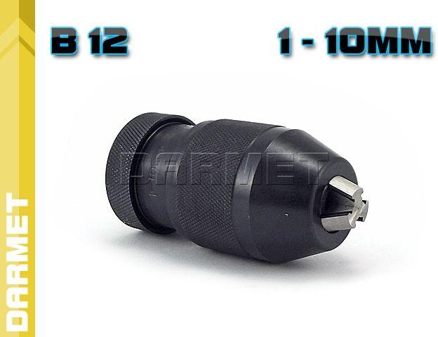 Uchwyt wiertarski samozaciskowy: 1  10MM - B12, (J0110-P)