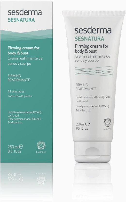 SESDERMA Sesnatura Firming Cream For Body and Bust krem ujędrniający biust i ciało 250ml