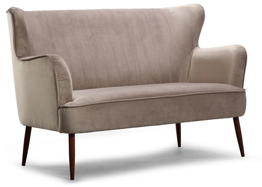 Sofa dwuosobowa do salonu, gabinetu, Alice EsteliaStyle