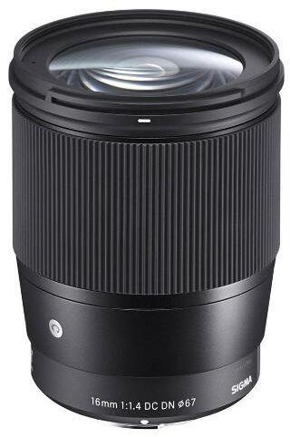 Sigma 16 mm f/1,4 DC DN Sony E (czarny) - Raty 20x0% - szybka wysyłka!