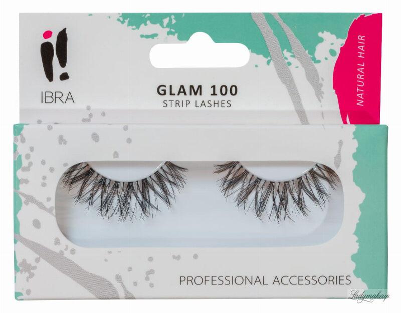 Ibra - GLAM - Sztuczne rzęsy na pasku - GLAM 100