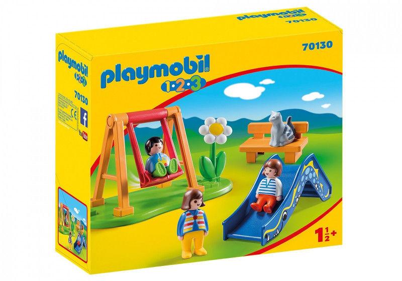 Playmobil - Plac zabaw dla dzieci 70130