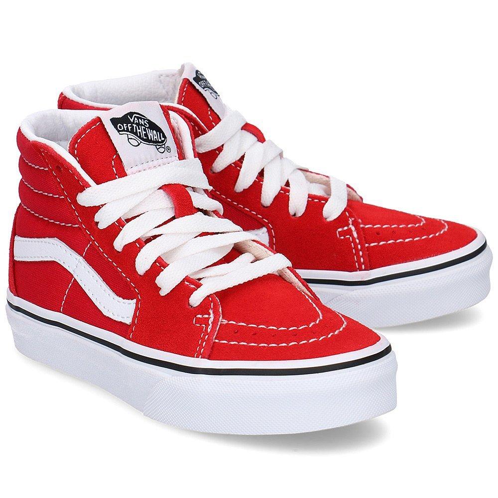 Vans Sk8-Hi - Trampki Dziecięce - VN0A4BUWJV61 - Czerwony
