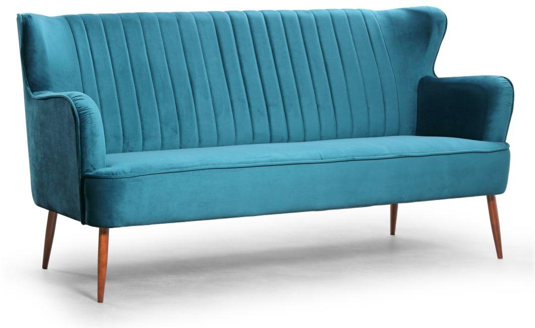 Sofa trzyosobowa do salonu, gabinetu Alice EsteliaStyle