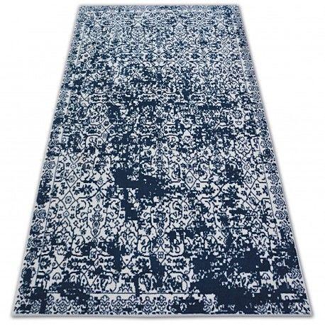 Dywan SENSE Micro 81260 - Vintage biały/niebieski 80x150 cm