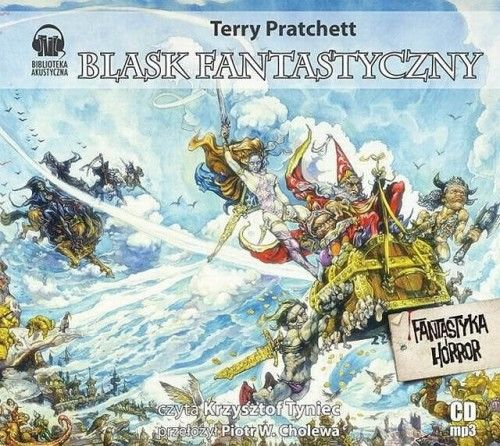 Blask fantastyczny Terry Pratchett Audiobook mp3 CD