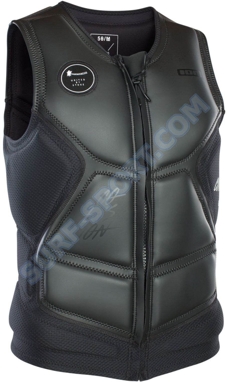Kamizelka Do Wakeboardu Ion Collision Vest Select FZ 2020 - Black