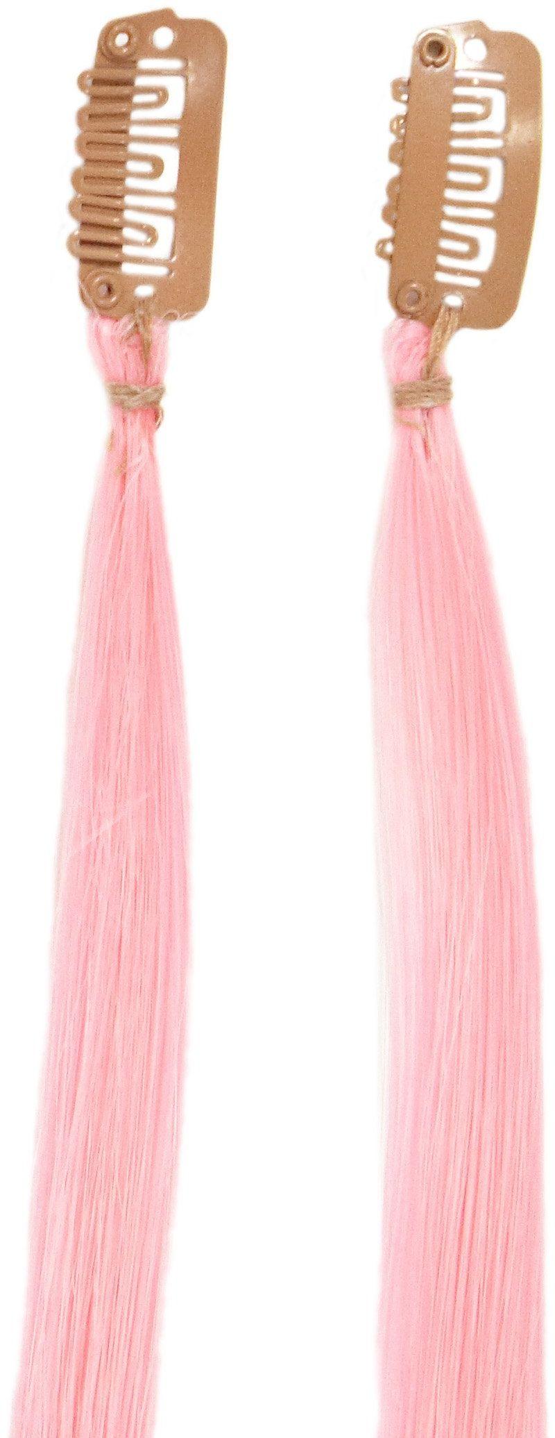 Love Hair Extensions Twinpack pasemka Clip-In, kolor Babyrosa - 41 cm, 1 opakowanie (1 x 1 sztuka)