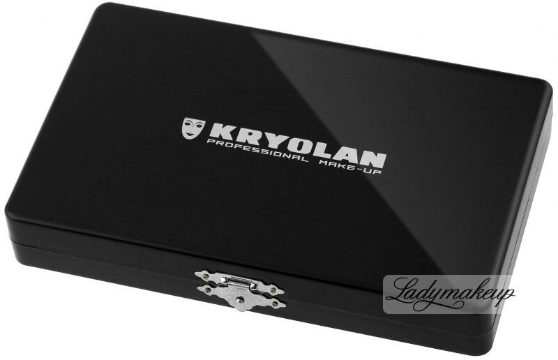 KRYOLAN - Paleta do mieszania komponentów z 35 polami - ART. 27046