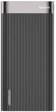 Power Bank Baseus 20000mAh Quick Charge 3.0 USB C / Micro USB 18W - czarny
