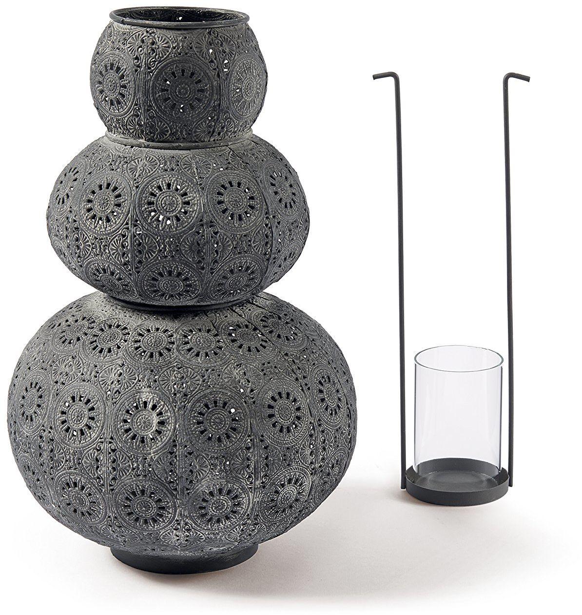 Średnica latarni Thea: 230 mm, wysokość: 345 mm, grafit, metal
