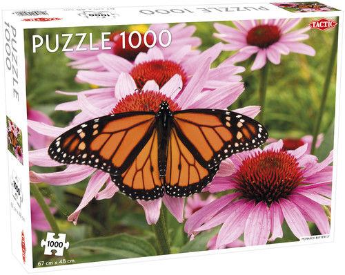Puzzle Monarch Butterfly 1000 ZAKŁADKA DO KSIĄŻEK GRATIS DO KAŻDEGO ZAMÓWIENIA