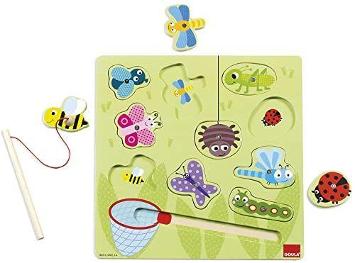 Goula Magnetisches Insektenspiel 11-teilig