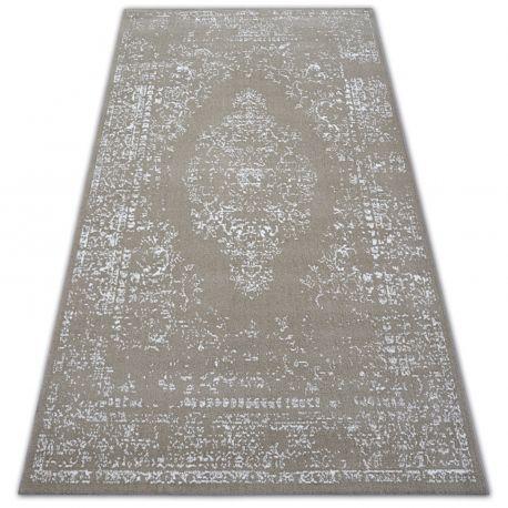 Dywan SENSE Micro 81261 Vintage beż/biały 80x150 cm