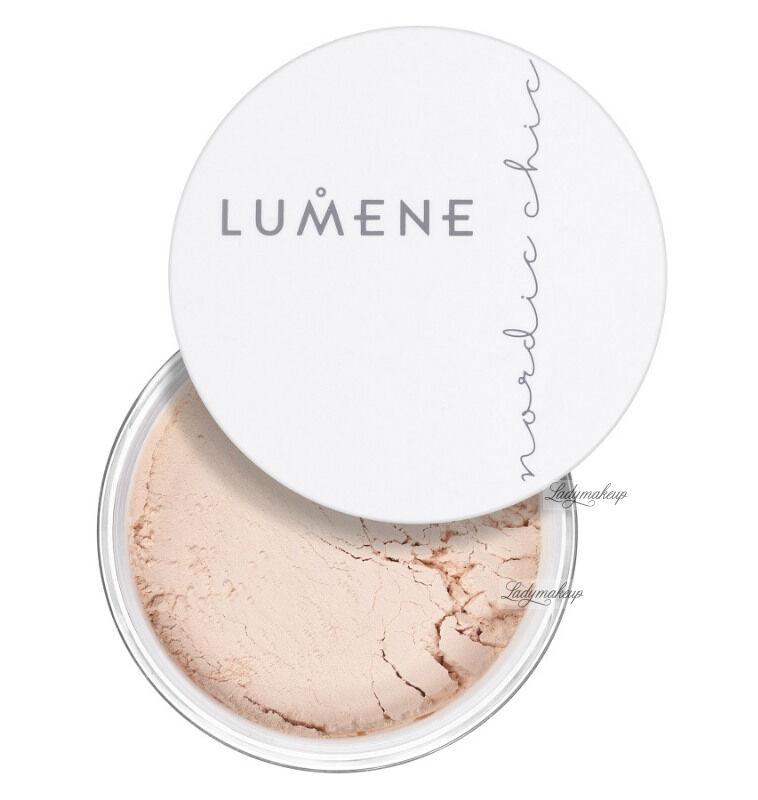 LUMENE - NORDIC CHIC - Sheer Finish Loose Powder - TRANSLUCENT - Puder sypki transparentny