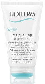 Biotherm Deo Pure Sensitive Skin kremowy antyperspirant do skóry wrażliwej i po depilacji 40 ml