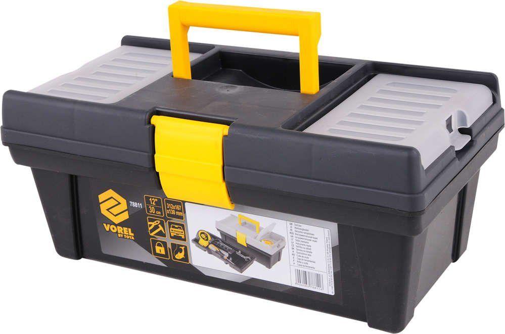 Skrzynka narzędziowa plastikowa pr-12'' Vorel 78811 - ZYSKAJ RABAT 30 ZŁ