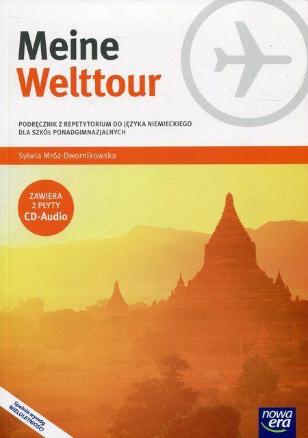 Meine Welttour Podręcznik z repetytorium Część 4 Język niemiecki + 2CD