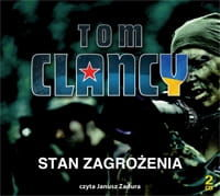 Stan zagrożenia Tom Clancy Audiobook mp3 CD