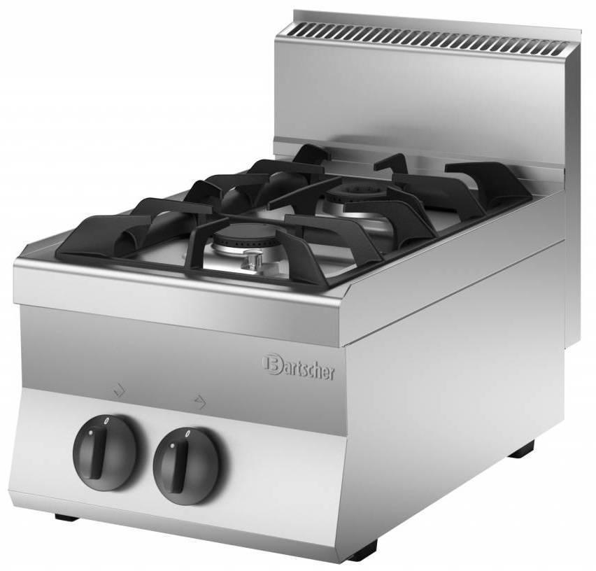 Bartscher Kuchnia gazowa 2 palnikowa 9000W - kod 1151023