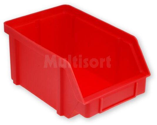 Pojemnik warsztatowy typ III 224x144x108mm czerwony