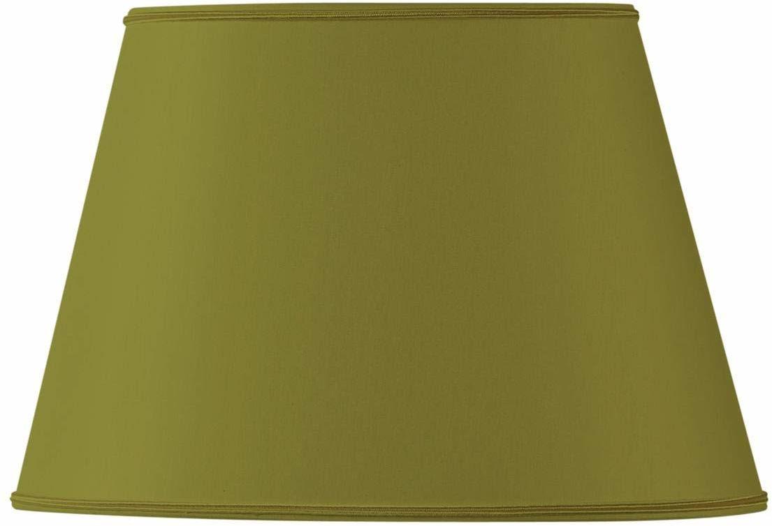 Owalny klosz średnica 45 x 28/29 x 20/27 cm zielony brąz