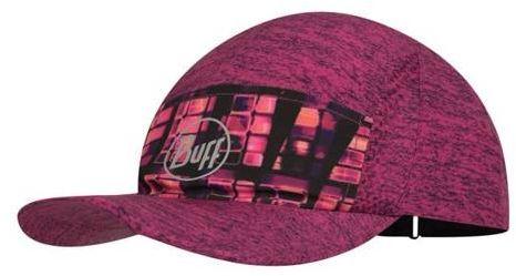 BUFF Czapka biegowa RUN CAP Pixel Pump Pink