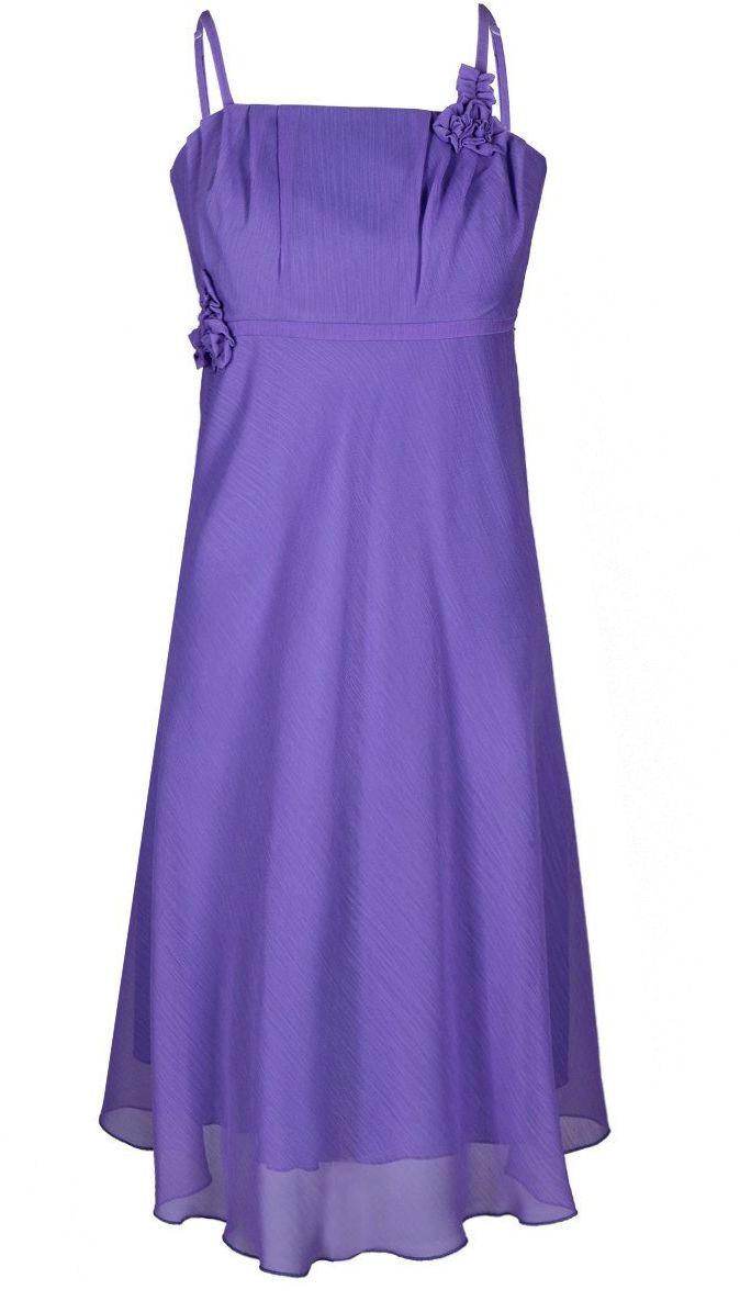 Sukienka FSU256 FIOLETOWY