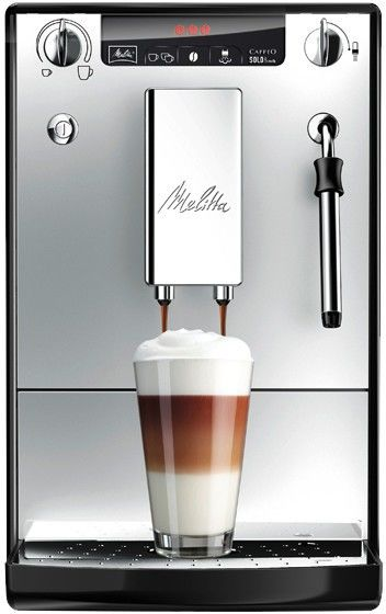 Ekspres ciśnieniowy Melitta Solo Milk Srebrno-czarny