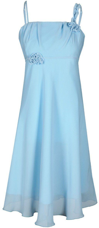 Sukienka FSU256 BŁEKITNY