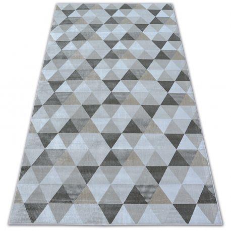 Dywan NOBIS 84166 krem - Trójkąty 120x170 cm