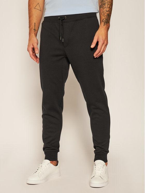 Polo Ralph Lauren Spodnie dresowe Core Replen 710652314001 Czarny Regular Fit