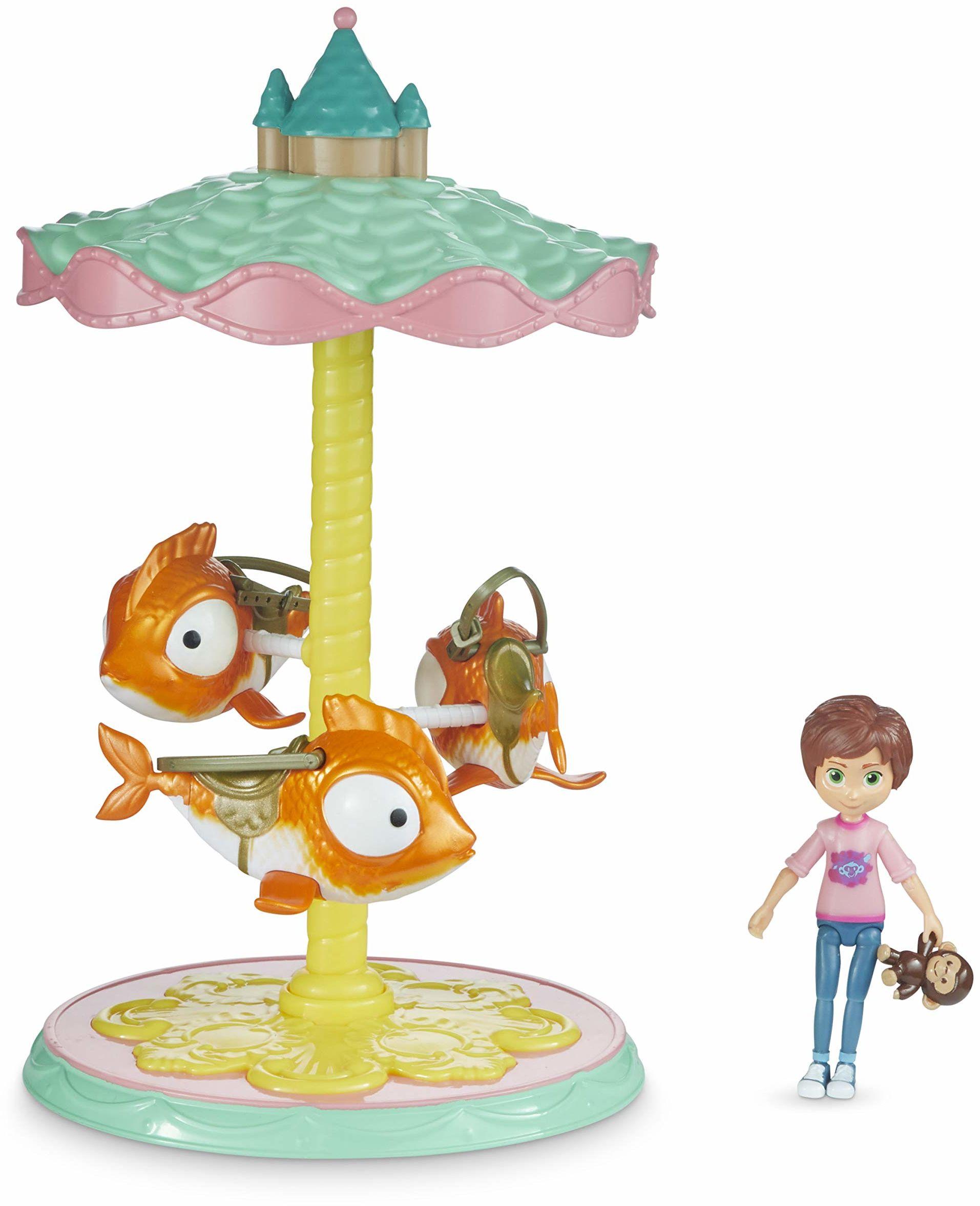 Wonder Park 31084 WonderPark latająca ryba karuzela zabawka dla dzieci, wielokolorowa, jedna