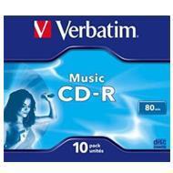 Verbatim CD-R Audio 80 min x16 10szt Live it !