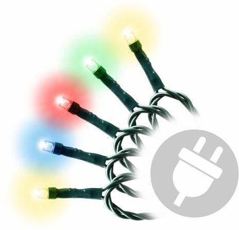 Świąteczny LED łańcuch - 4 m, 40 LED, kolorowy