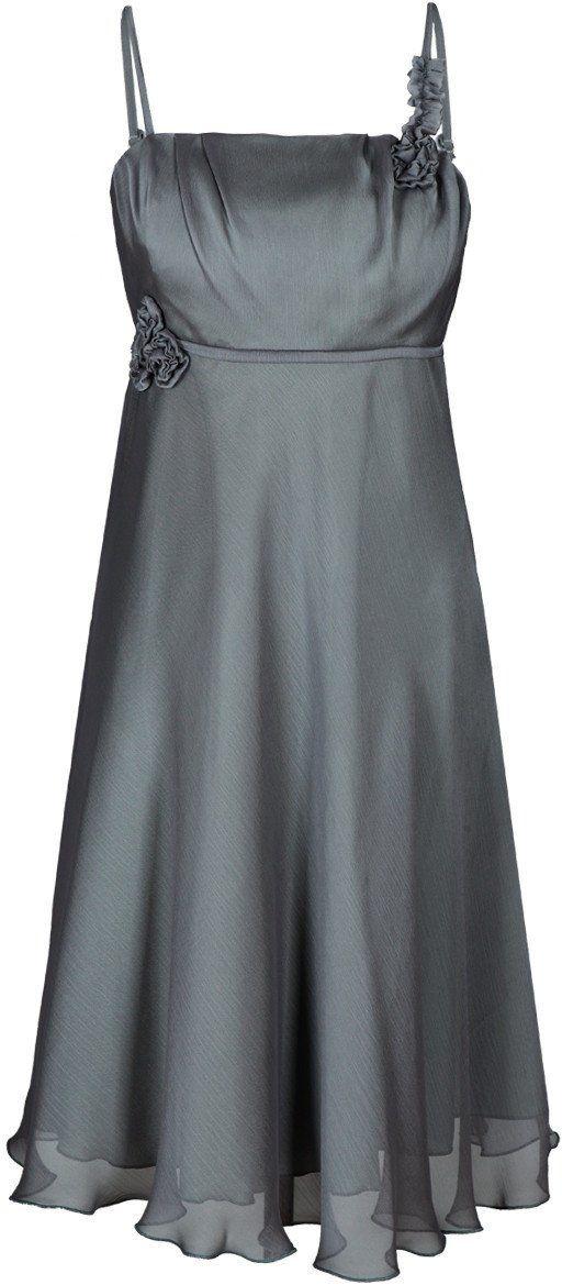 Sukienka FSU256 SZARY